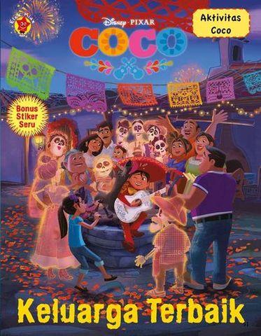 Aktivitas Coco + Stiker: Keluarga Terbaik