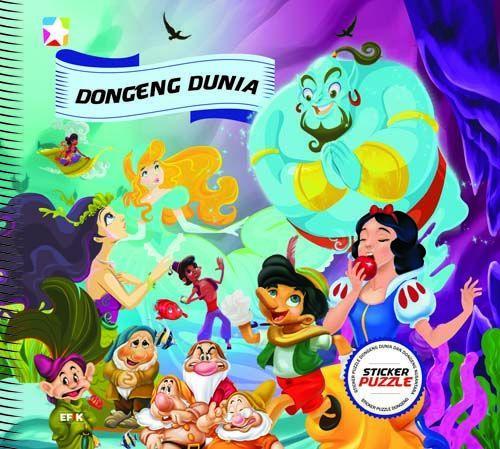 Sticker Puzzle : Dongeng Nusantara