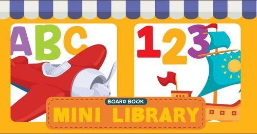 Board Book Mini Library  : ABC - 123