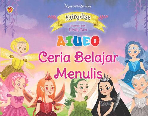 Fairydise AIUEO Ceria Belajar Menulis