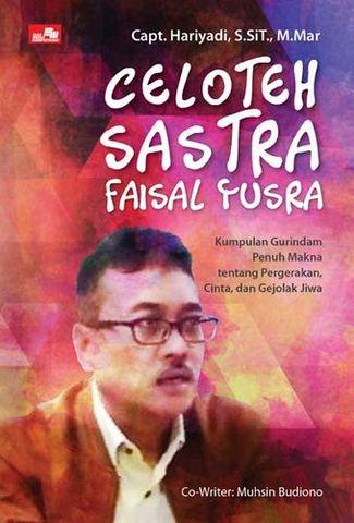 Celoteh Sastra Faisal Yusra