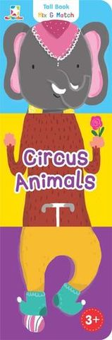 Tall Book Mix & Match: Circus Animals