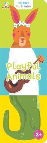 Tall Book Mix & Match: Playful Animals