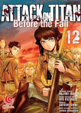 LC: Attack on Titan Before The Fall 12