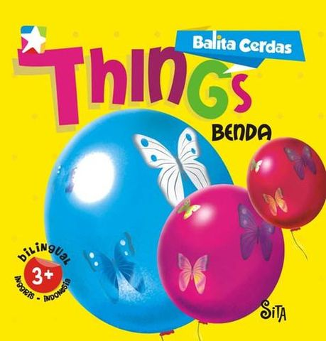 Board book  Balita Cerdas  2 Bahasa : Things