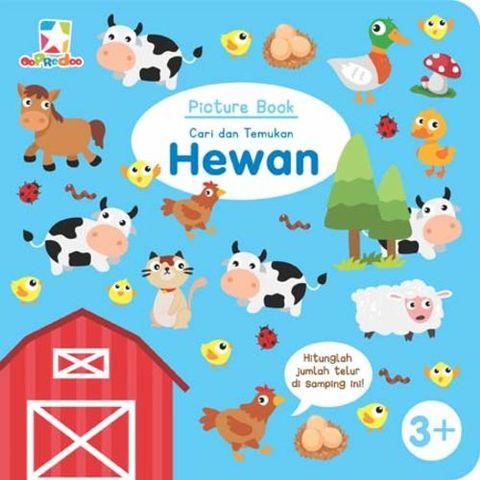 Picture Book: Cari dan Temukan Hewan