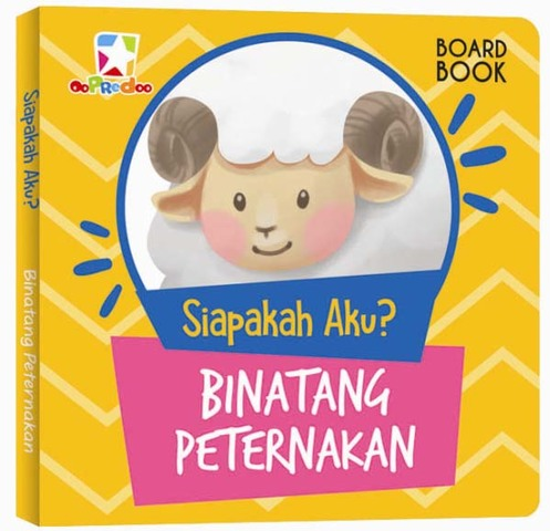 Opredo Board Book Siapakah Aku : Binatang Peternakan