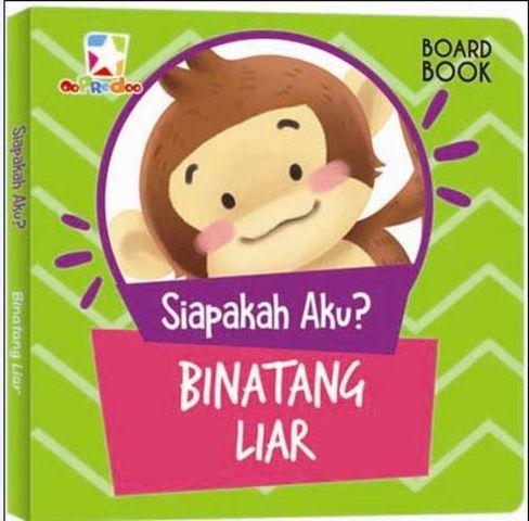 Opredo Board Book Siapakah Aku : Binatang Liar
