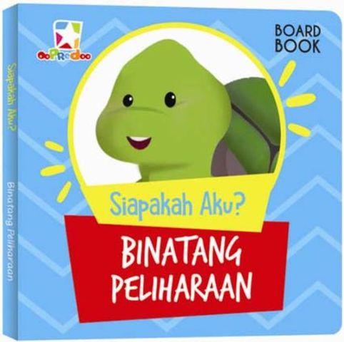Opredo Board Book Siapakah Aku : Binatang Peliharaan