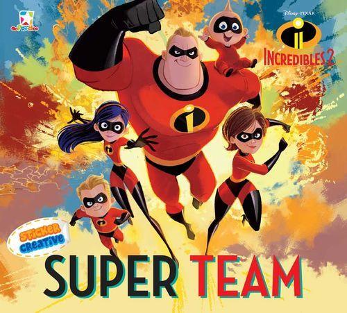Opredo Sticker Creative Incredibles 2: Super Team