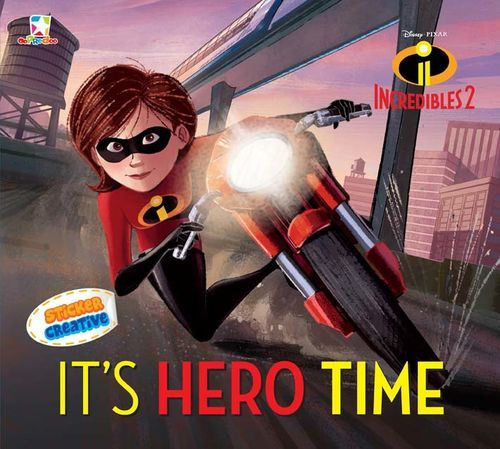 Opredo Sticker Creative Incredibles 2 : It`s Hero Time