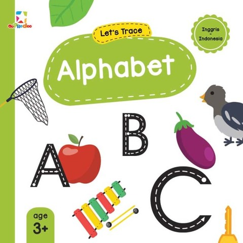 Opredo Let`s Trace: Alphabet