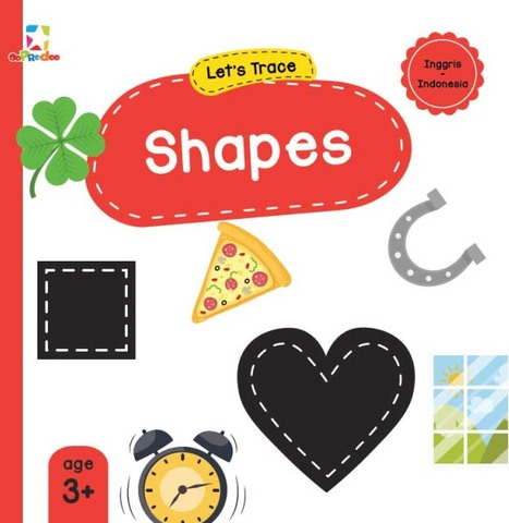 Opredo Let`s Trace: Shapes