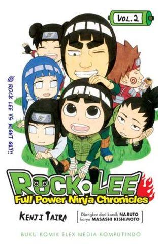 ROCK LEE - FULL POWER NINJA CHRONICLES 2 - ROCK LEE VS MIGHT GUY