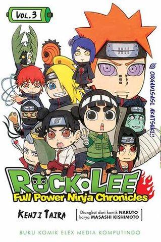 ROCK LEE - FULL POWER NINJA CHRONICLES 3 - ORGANISASI AKATSUKI!