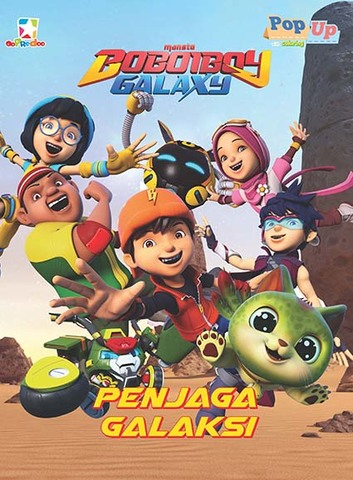 Opredo Boboiboy Galaxy Pop Up Coloring : Penjaga Galaksi