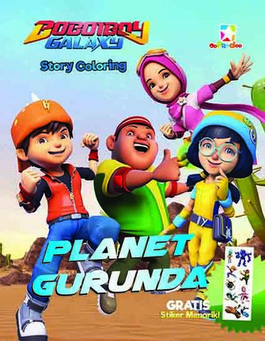 Opredo Story Coloring Boboiboy Galaxy: Planet Gurunda