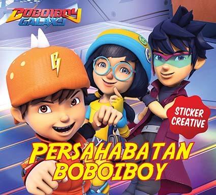 Opredo Sticker Creative: Persahabatan Boboiboy