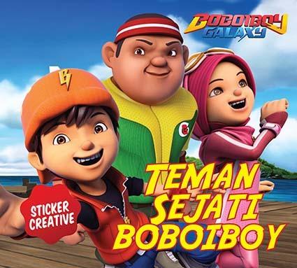Opredo Sticker Creative: Teman Sejati Boboiboy