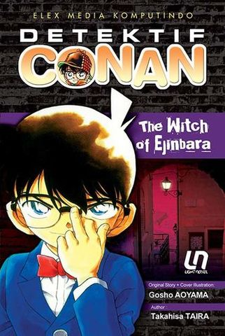 Light Novel Detektif Conan: The Witch of Ejinbara