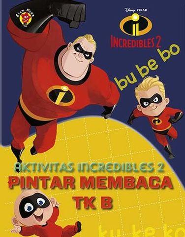 Aktivitas Incredible 2: Pintar Membaca TK B