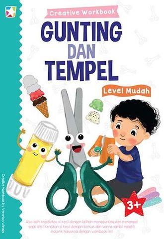 Opredo Creative Workbook: Gunting & Tempel Level Mudah