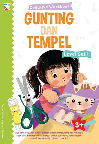 Opredo Creative Workbook: Gunting & Tempel Level Sulit