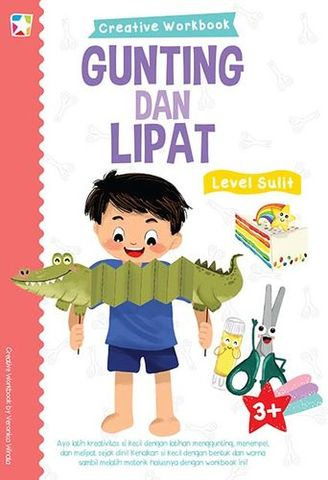 Opredo Creative Workbook: Gunting & Lipat Level Sulit