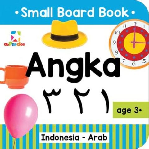 Opredo Small Board Book: Angka