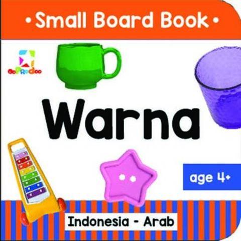Opredo Small Board Book: Warna