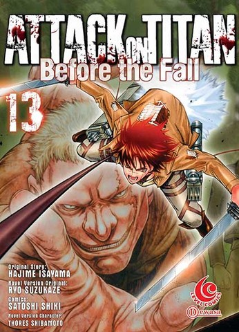 LC: Attack on Titan Before The Fall 13