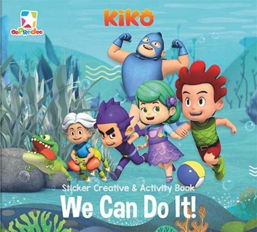 Opredo Sticker Creative & Activity Book Kiko: We Can Do It!