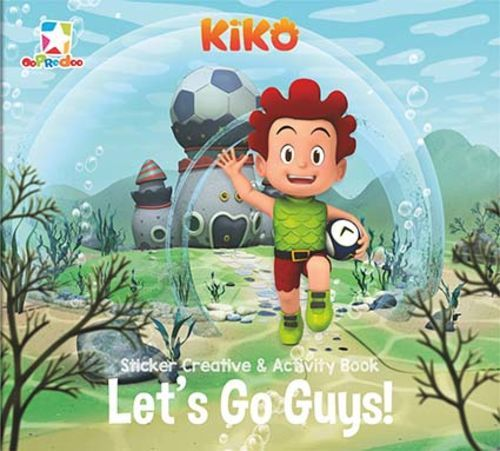 Opredo Sticker Creative & Activity Book Kiko: Let`s Go Guys!