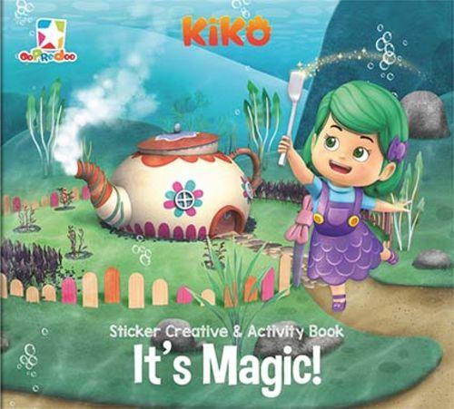 Opredo Sticker Creative & Activity Book Kiko: It`s Magic!