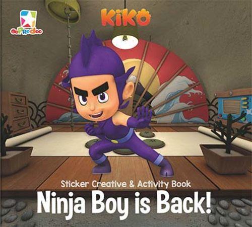 Opredo Sticker Creative & Activity Book Kiko: Ninja Boy is Back!