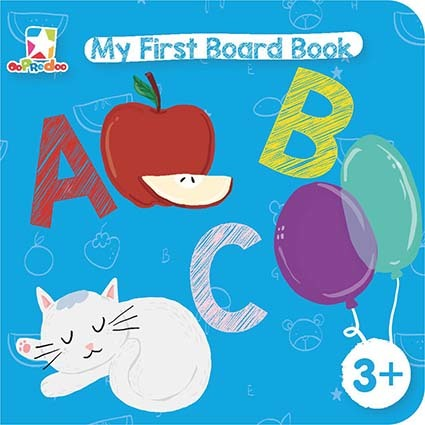 Opredo My First Board Book: ABC