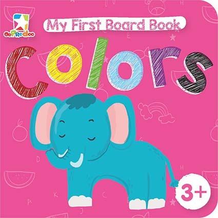 Opredo My First Board Book: Colors