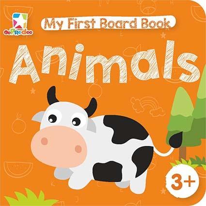 Opredo My First Board Book: Animals
