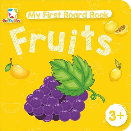 Opredo My First Board Book: Fruits