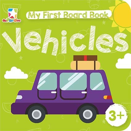 Opredo My First Board Book: Vehicles