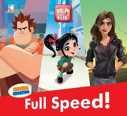 Opredo Sticker Creative Ralph Breaks the Internet - Full Speed!
