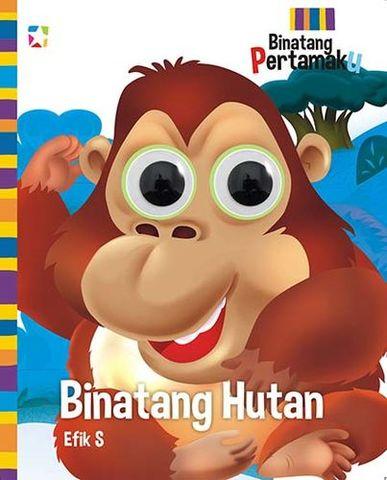 Opredo Board book Binatang Pertamaku: Binatang Hutan