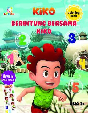 Opredo Coloring Book Kiko: Berhitung Bersama Kiko