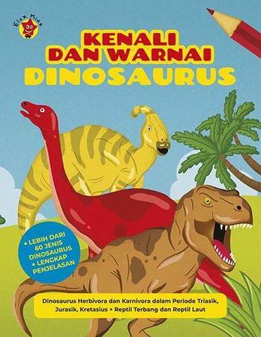 Kenali dan Warnai: Dinosaurus