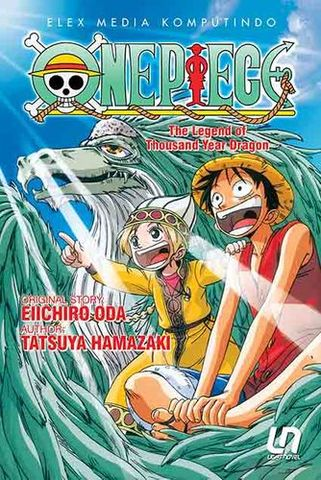 Light Novel One Piece: The Legend of Thousand Year Dragon