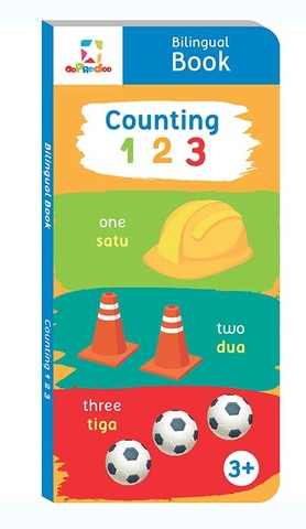 Opredo Bilingual Book - Counting 123