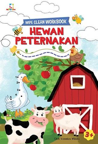 Opredo Wipe Clean Workbook: Hewan Peternakan