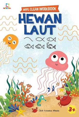 Opredo Wipe Clean Workbook: Hewan Laut
