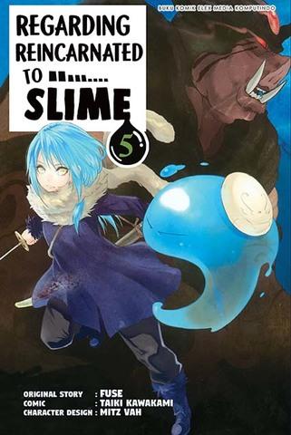 Regarding Reincarnated to Slime 5