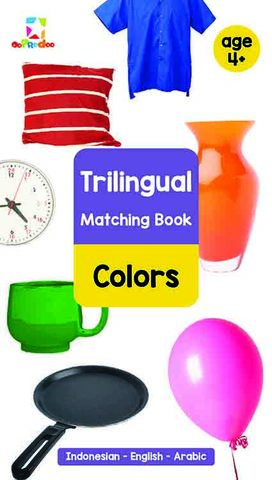 Opredo Trilingual Matching Book: Colors